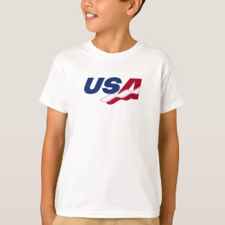 USA Racquetball Kids Tee Shirt