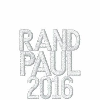 USA RAND PAUL 2016 FLEECE ZIP JOGGER JACKET