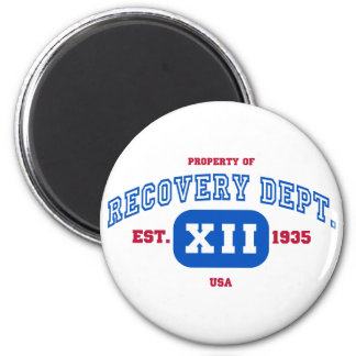 USA Recovery 6 Cm Round Magnet