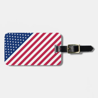Stars And Stripes Luggage Bag Tags