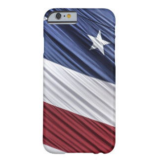 USA Red, White and Blue American Patriotic Flag Barely There iPhone 6 Case