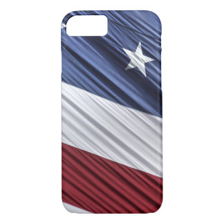 USA Red, White and Blue American Patriotic Flag iPhone 7 Case