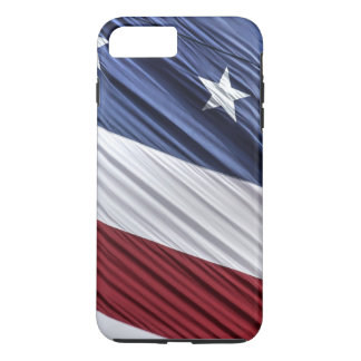 USA Red, White and Blue American Patriotic Flag iPhone 7 Plus Case