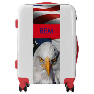 USA! Red, White and Blue Luggage