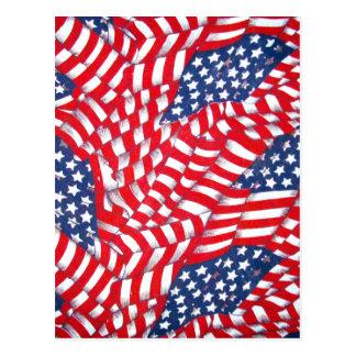 USA,Red,White & Blue_ Postcard