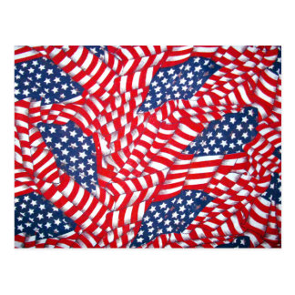 USA,Red,White & Blue_ Postcard