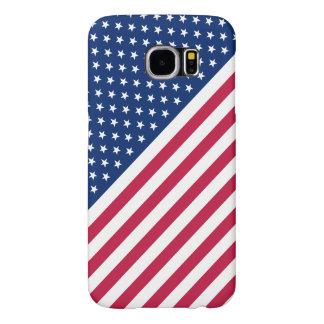 USA Red White Stripes Stars Flag Samsung Galaxy S6 Samsung Galaxy S6 Cases