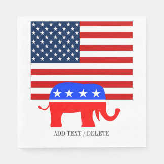 USA Republican Napkins Disposable Serviette