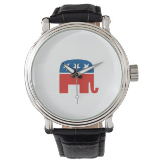 usa republican party united states america wrist watch