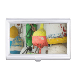 USA, Rhode Island, Block Island 2 Business Card Holder
