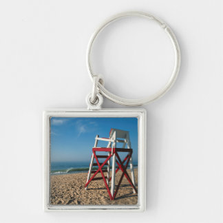 USA, Rhode Island, Charleston Beach, Beachfront Key Ring