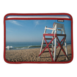 USA, Rhode Island, Charleston Beach, Beachfront Sleeve For MacBook Air
