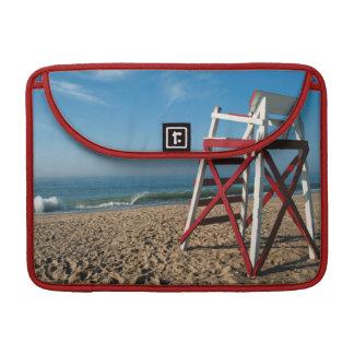 USA, Rhode Island, Charleston Beach, Beachfront Sleeve For MacBook Pro