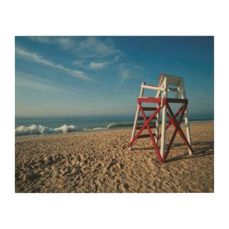 USA, Rhode Island, Charleston Beach, Beachfront Wood Print