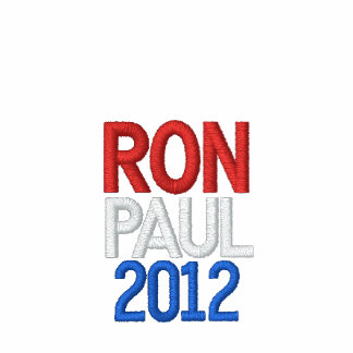 USA RON PAUL 2012 AA FLEECE JOGGER JACKET - RED