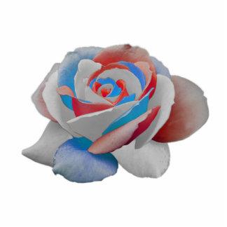 usa rose standing photo sculpture
