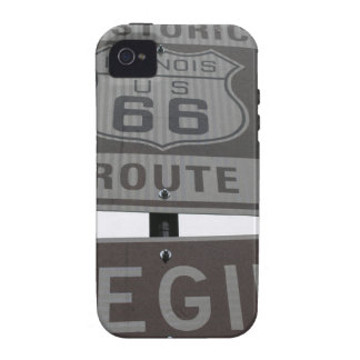 USA Route 66 Americana Hot Rod Cruisin' iPhone 4/4S Covers