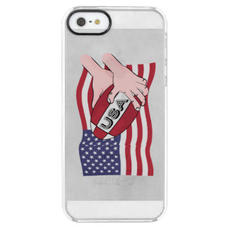 USA Rugby Team Supporters Flag With Ball iPhone 6 Plus Case