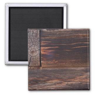 USA, Salmon, Idaho, Log Cabin Magnets