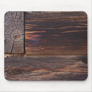 USA, Salmon, Idaho, Log Cabin Mouse Pad