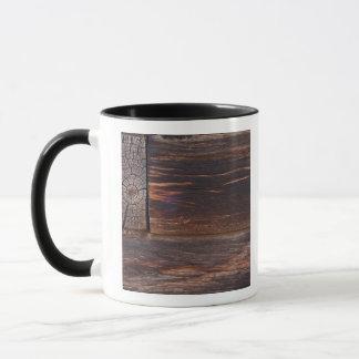 USA, Salmon, Idaho, Log Cabin Mug