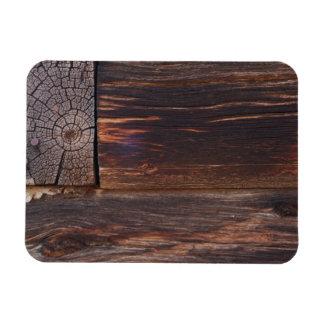 USA, Salmon, Idaho, Log Cabin Vinyl Magnets