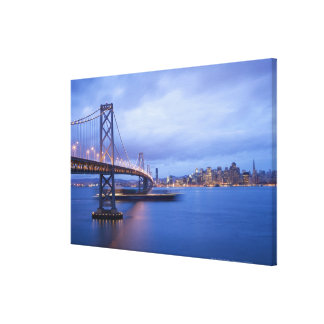 USA, San Francisco, City skyline with Golden 2 Canvas Print