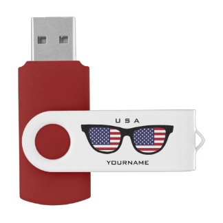 USA Shades custom USB drives