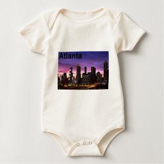 USA skyline at sunset (St.K) Baby Bodysuit