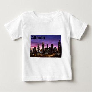 USA skyline at sunset (St.K) Baby T-Shirt