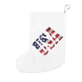 USA SMALL CHRISTMAS STOCKING