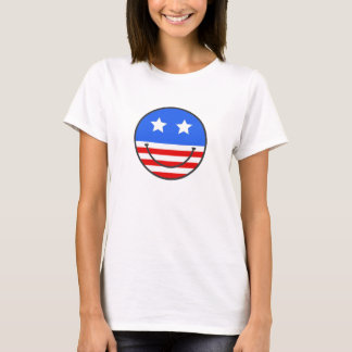 USA Smiley face T-Shirt