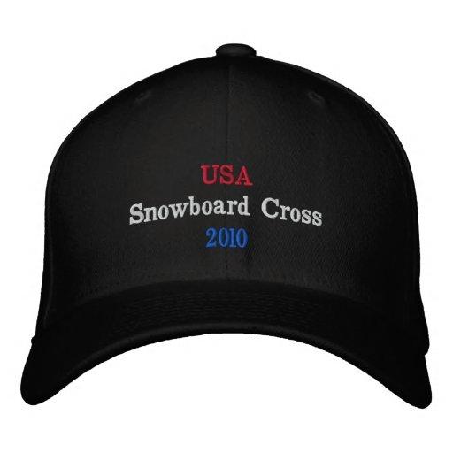 USA  Snowboard Cross  2010 Baseball Cap
