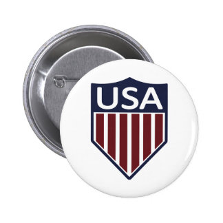 USA Soccer 1950 6 Cm Round Badge
