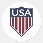 USA Soccer 1950 Round Sticker