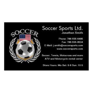 USA Soccer 2016 Fan Gear Pack Of Standard Business Cards