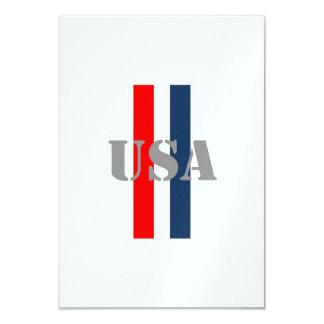 USA Soccer 9 Cm X 13 Cm Invitation Card