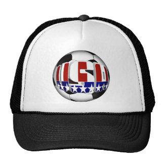 USA Soccer Ball Cap