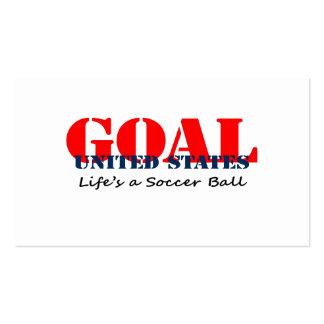 USA Soccer Business Card Template
