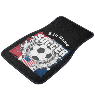 USA Soccer Car Mat