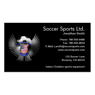 USA Soccer Champions Pack Of Standard Business Cards