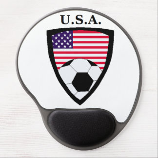 USA Soccer Gel Mouse Mat