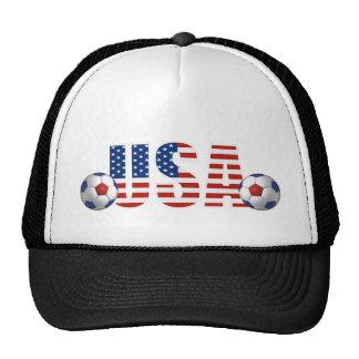 USA Soccer Hat Trucker Hats