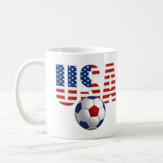 USA Soccer Classic White Coffee Mug
