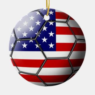 USA Soccer Ornament