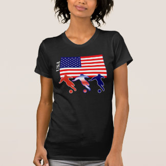 USA Soccer Players T Shirts
