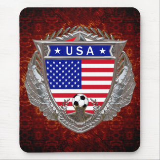 USA Soccer Team Mouse Pad