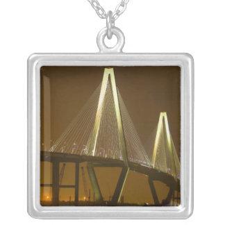 USA, South Carolina, Charleston. Arthur Silver Plated Necklace