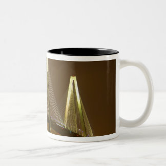 USA, South Carolina, Charleston. Arthur Two-Tone Coffee Mug