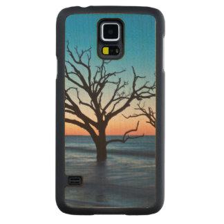 USA, South Carolina, Edisto Island, Botany Bay Carved Maple Galaxy S5 Case